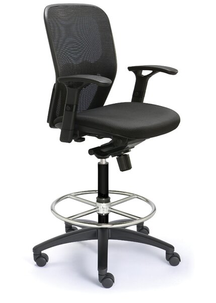 Mesh Drafting Chair by Valo
