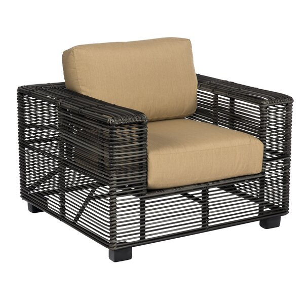Monroe Patio Chair with Cushions by Woodard