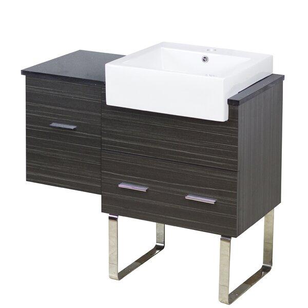 Alican 37 Single Bathroom Vanity Base Only