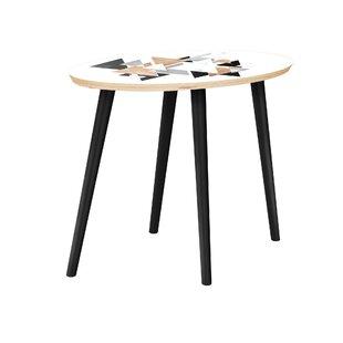 Viaan End Table by Bungalow Rose