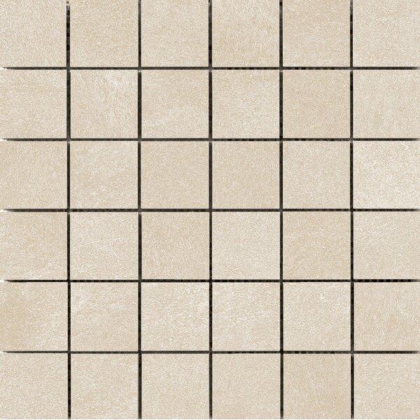 Anthem 2 x 2 Ceramic Mosaic Tile in Sand by Emser Tile