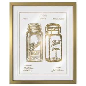 Mason Jar Wall Art mason jar wall art | wayfair