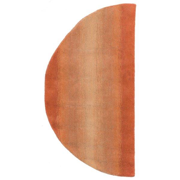 Belding Hand-Tufted Orange Area Rug by Brayden Studio