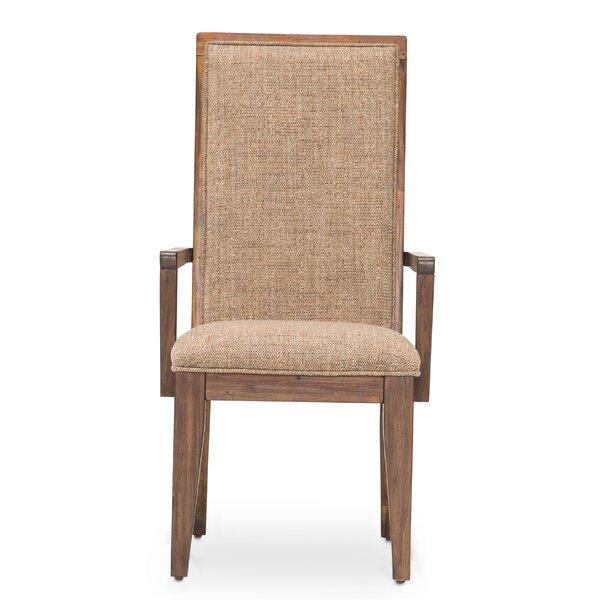 Carrollton Arm Chair in Beige by Loon Peak Loon Peak