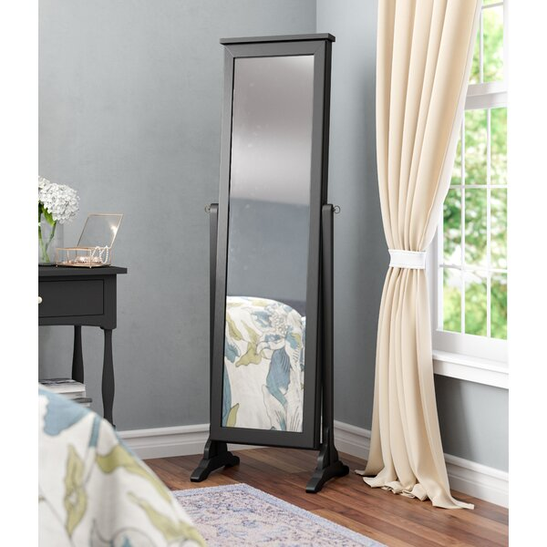 Dallastown Jewelry Armoire with Mirror by Alcott Hill
