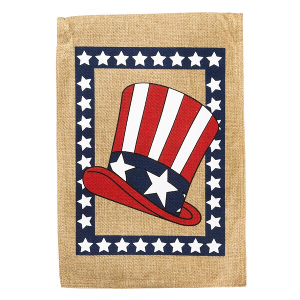 Uncle Sam Hat Vertical Flag by Evergreen Enterprises, Inc