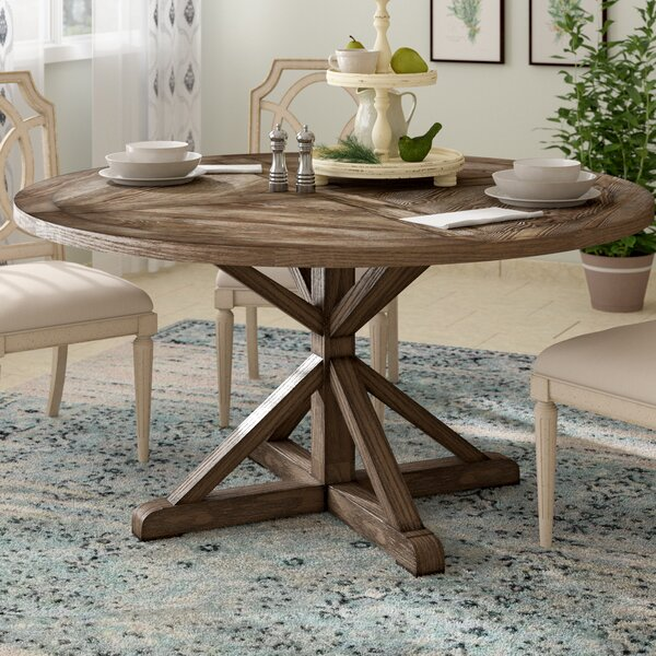Wrens Solid Wood Dining Table by Birch Lane™ Heritage