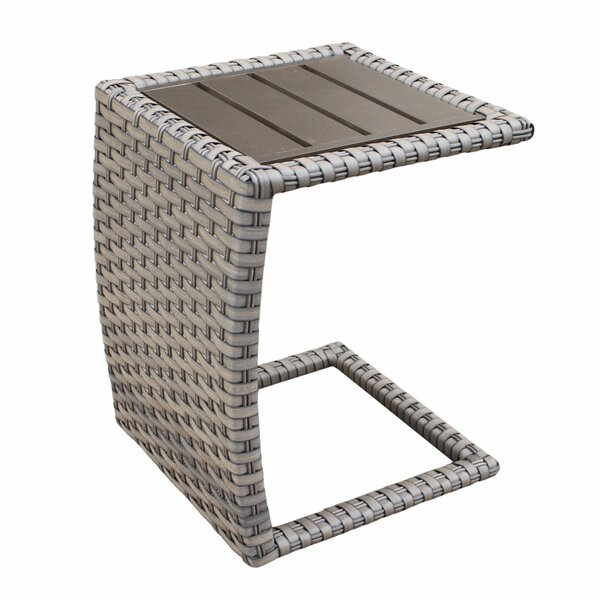 Forence Wicker/Rattan Side Table by TK Classics