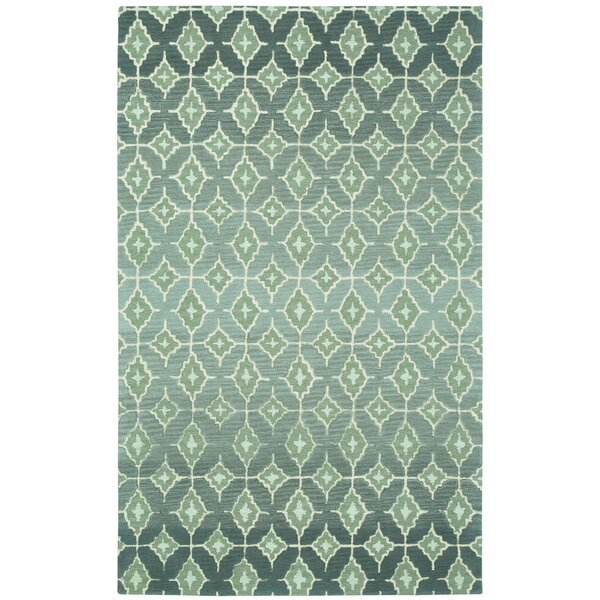 Kevin O'Brien Ikat 150 in. x 108 in. Indoor Area Rug