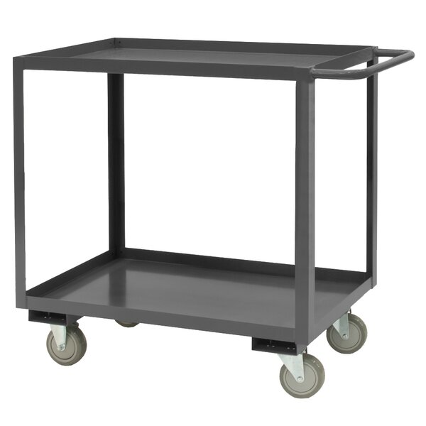 37.63 H x 48 W x 24 D 14 Gauge Steel Rolling Service Stock Cart by Durham Manufacturing