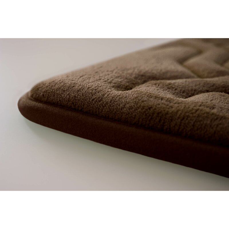 Bath Studio Drona Premium Micro Plush Memory Foam Bath Mat & Reviews ...