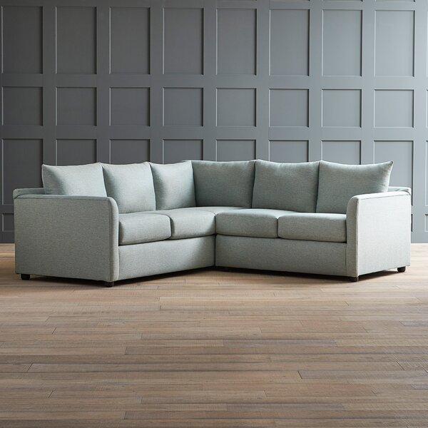 Alice Large Sectional by AllModern Custom Upholstery