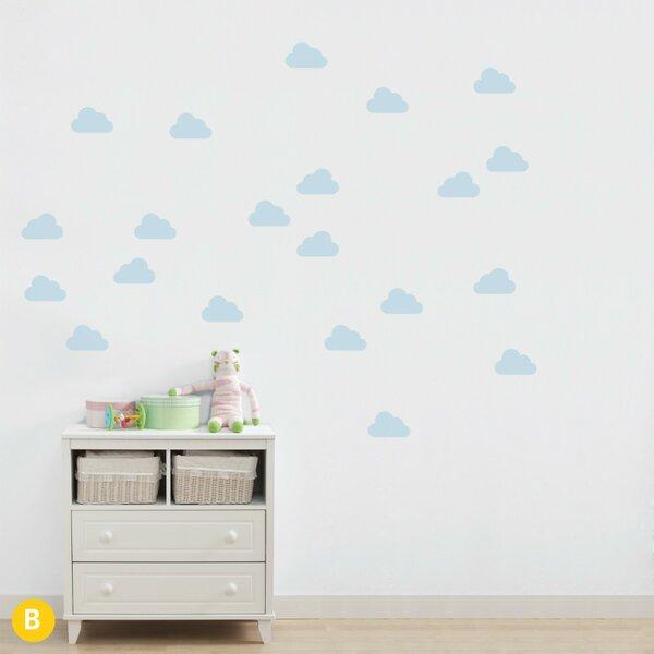 Gretchen Cloud Nine Wall Sticker/Decal by Harriet Bee