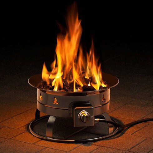Heininger Portable Propane Outdoor Fire Pit by Heininger Holdings LLC
