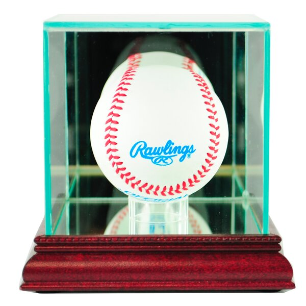 Single Baseball Display Case by Perfect Cases