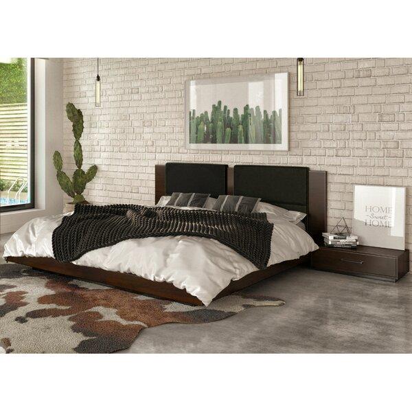 Fantasia Platform Solid Wood 3 Pieces Bedroom Set by VIG Furniture VIG Furniture