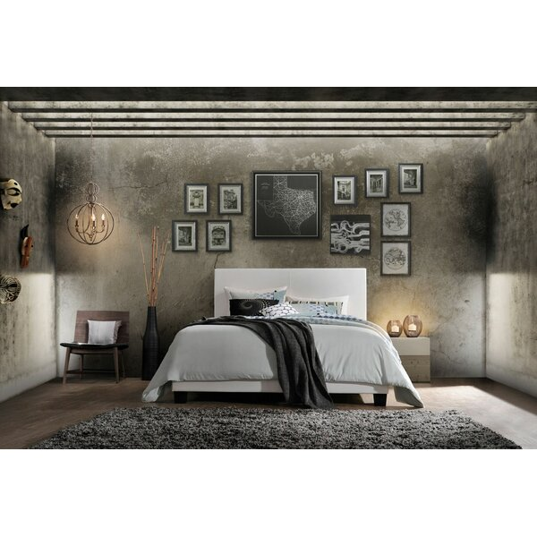 Correia Queen Upholstered Standard Bed by Ebern Designs
