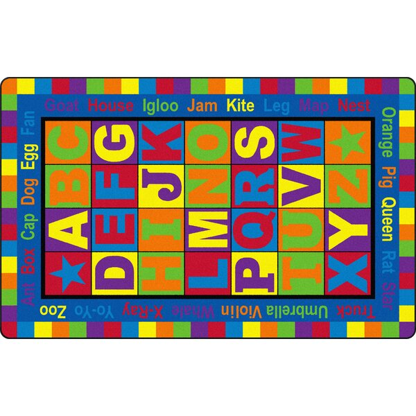ABC Words Kids Rug by Flagship Carpets