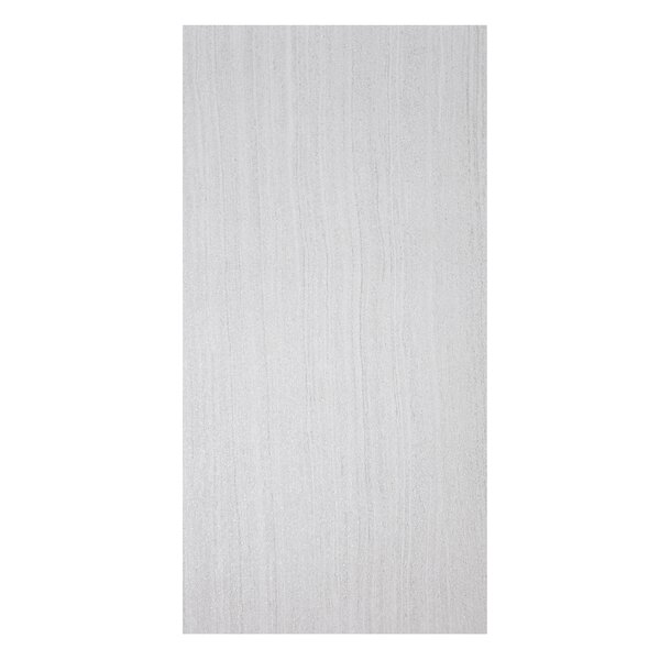 Volcano 12 x 24 Porcelain Field Tile in Bianco by Casa Classica