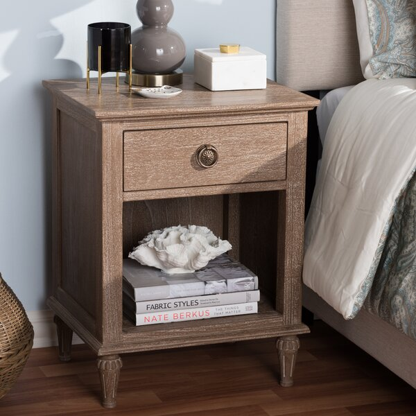 Michel 1 Drawer Nightstand by August Grove
