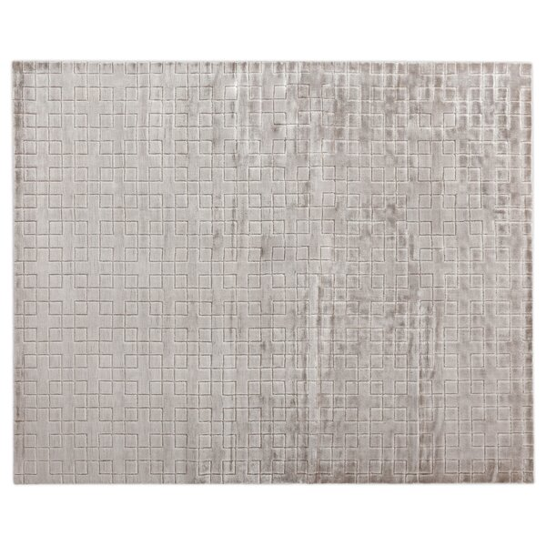 Kingsley Hand-Loomed Silver Area Rug by Exquisite Rugs