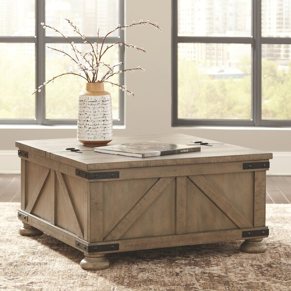 Bromborough Coffee Table with Storage by Gracie Oaks