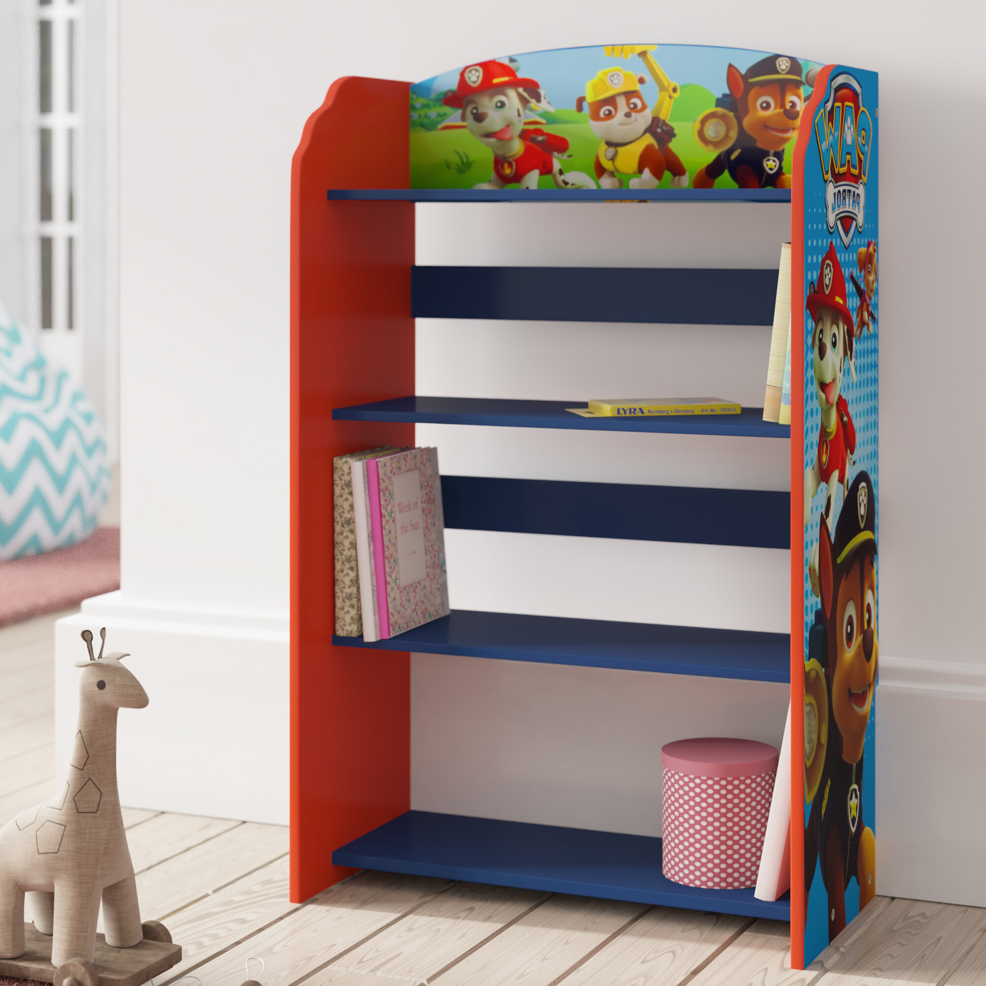 Paw Patrol Children S Bookcase Reviews Wayfair Co Uk