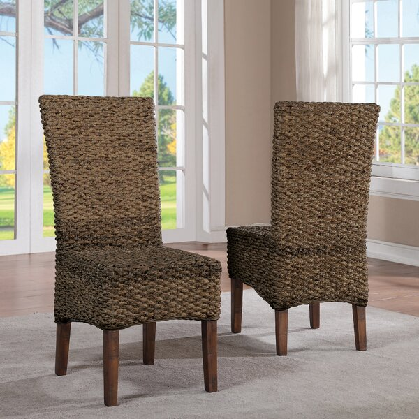Augusto Woven Seagrass Side Chair (Set of 2) by Birch Lane™ Heritage