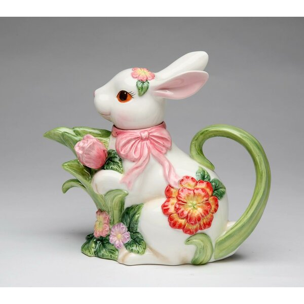 Ceramic Bunny Teapot by Cosmos Gifts