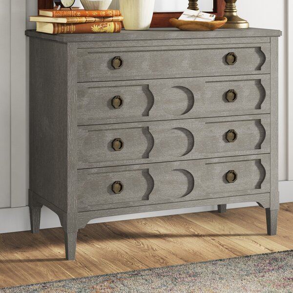 Hazen 4 Drawer Dresser by Greyleigh