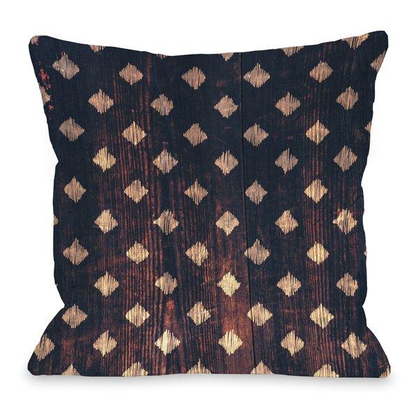 Scribble Scrabble Throw Pillow by One Bella Casa