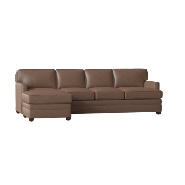 Leather Sectional By Wayfair Custom Upholstery™