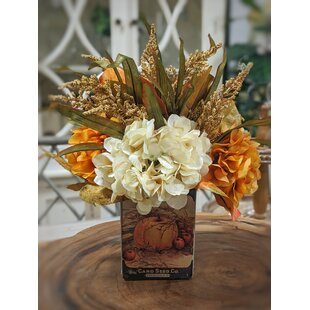 Floral Arrangements Thanksgiving Faux Flowers You Ll Love In 2021 Wayfair