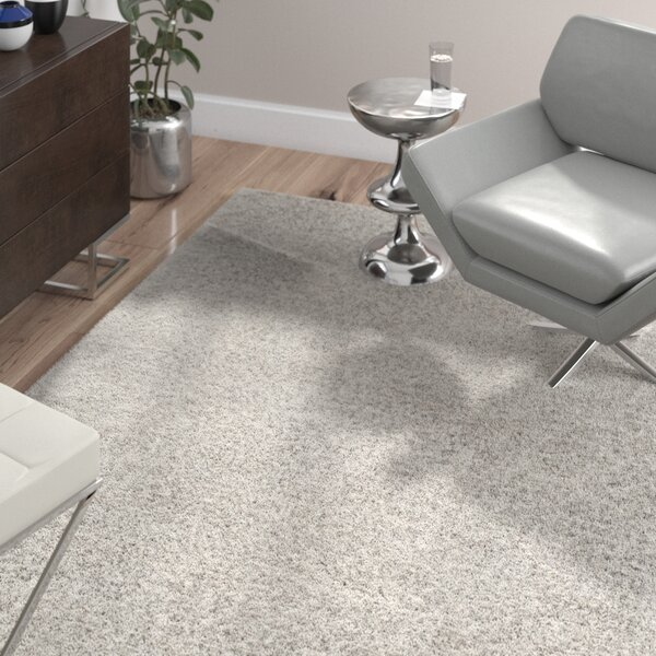 Oconnell Ice Shag Area Rug by Wade Logan
