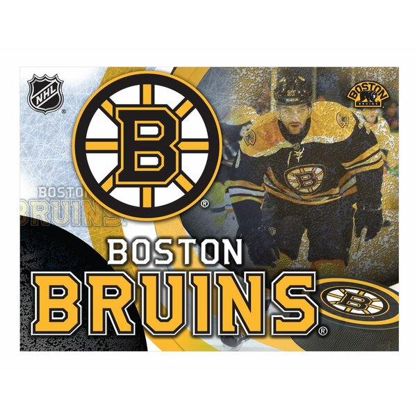 NHL Graphic Art on Wrapped Canvas by Holland Bar Stool