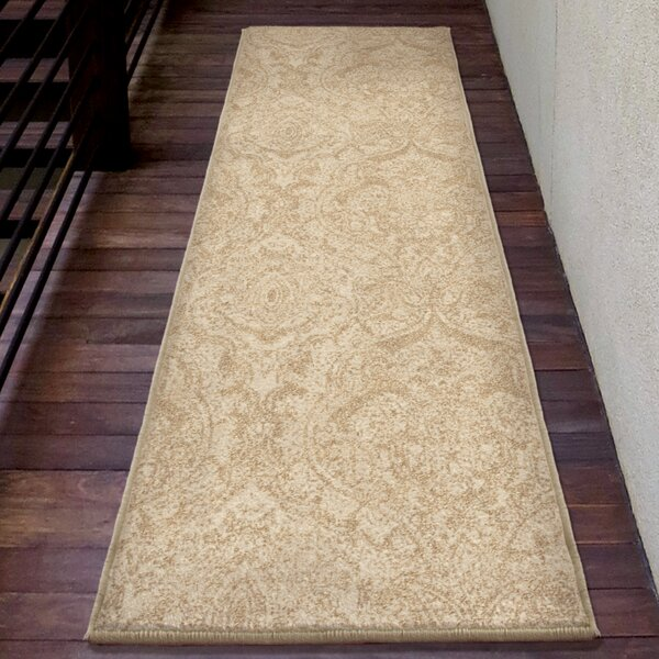 Seger Beige Area Rug by Charlton Home
