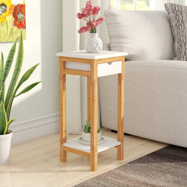 Wellston End Table With Storage By Ebern Designs