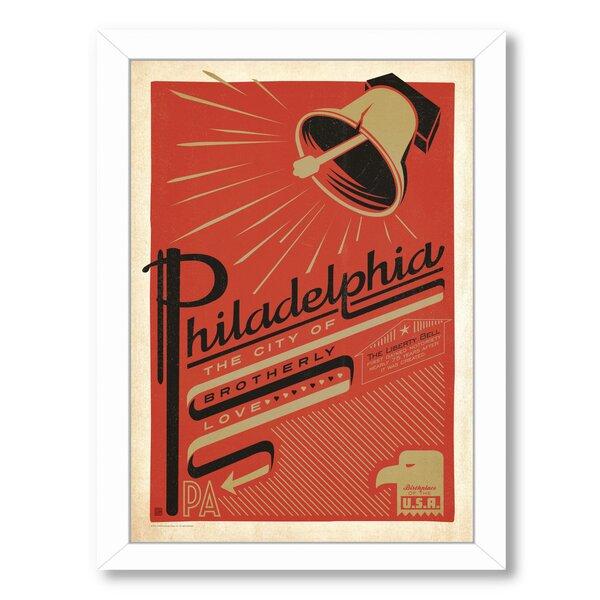 Philadelphia 1001 Framed Vintage Advertisement by East Urban Home