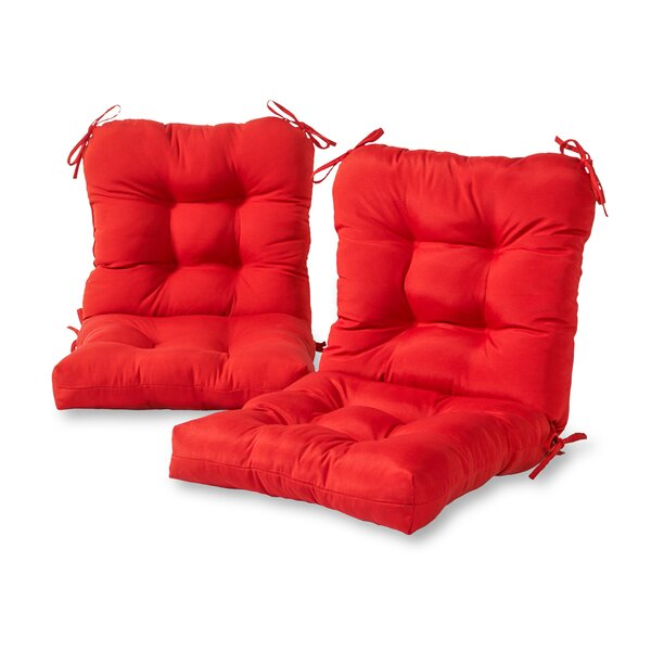 Sarver Indoor/Outdoor Seat/Back Cushion (Set of 2)