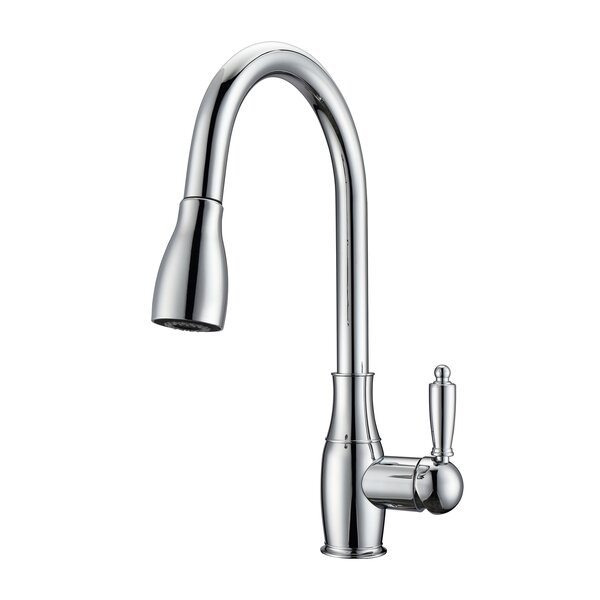 Cullen Pull Down Single Handle Kitchen Faucet by Barclay