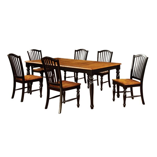 Tanner 7 Piece Dining Set by Hokku Designs
