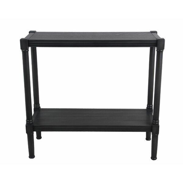 Charlton Home Black Console Tables