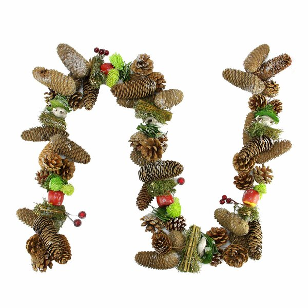 Decorative Berries Fruit and Pine Artificial Christmas Garland by Northlight Seasonal