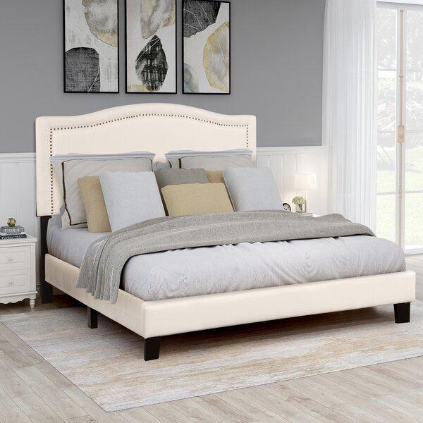 Campanelli Queen Upholstered Platform Bed by Red Barrel Studio
