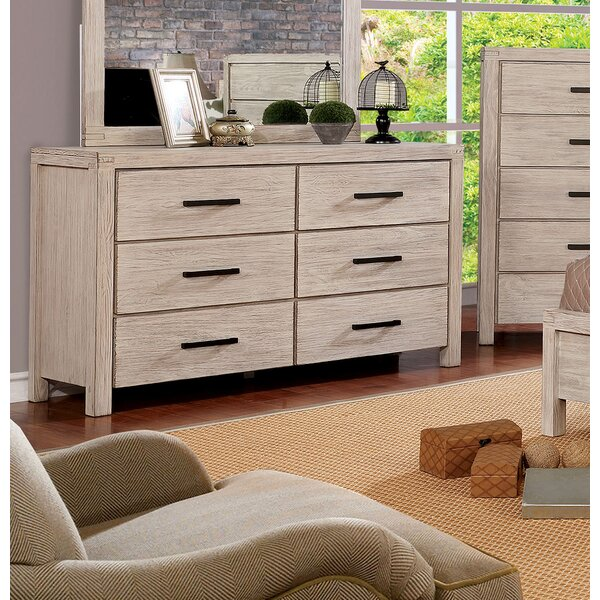 Mcmillion 6 Drawer Double Dresser by Gracie Oaks