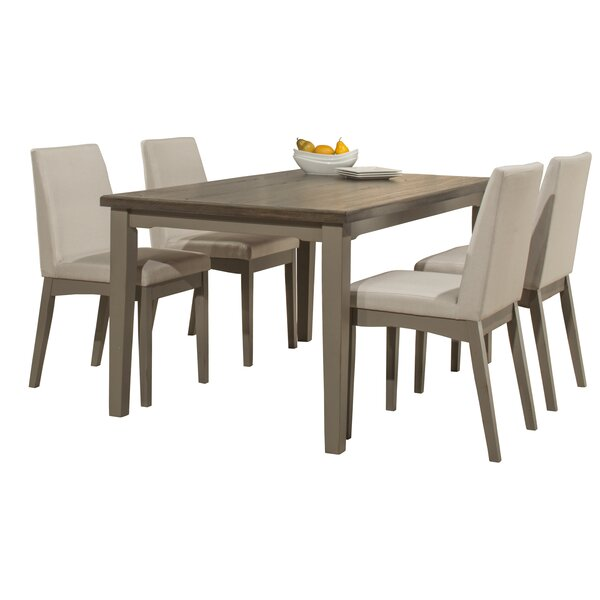 #2 Kinsey 5 Piece Dining Set By Rosecliff Heights Read Reviews