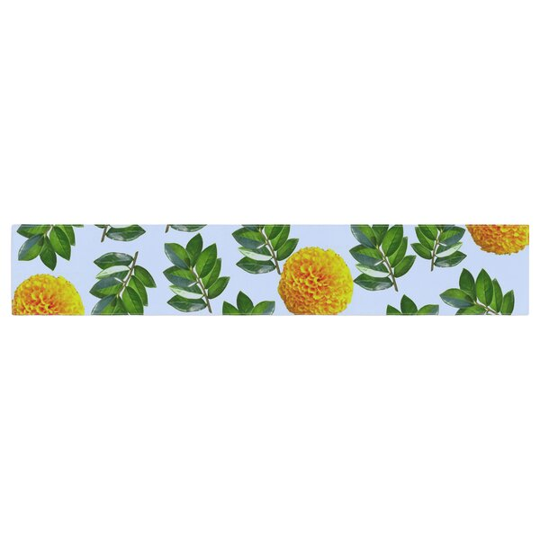 Sreetama Ray More Marigold Table Runner by East Urban Home