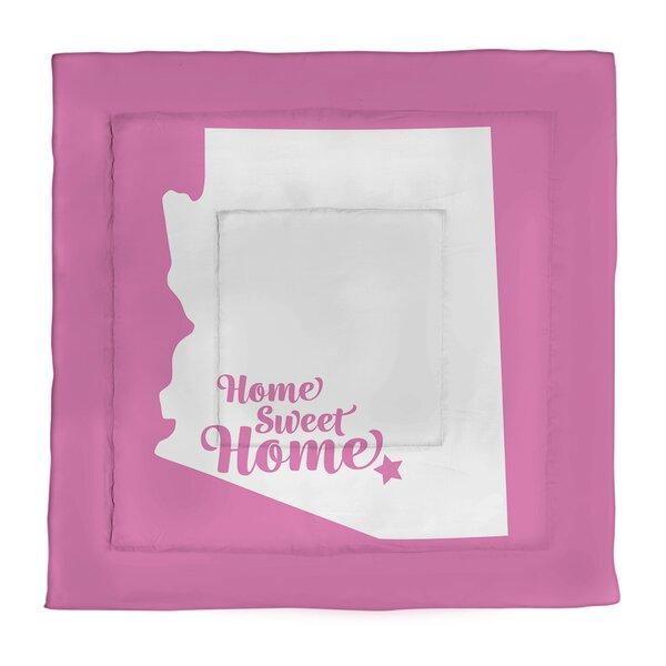 Tucson Home Sweet Single Reversible Comforter