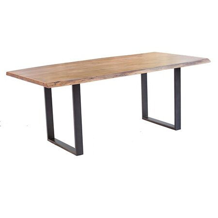 Berard Solid Wood Dining Table by Foundry Select