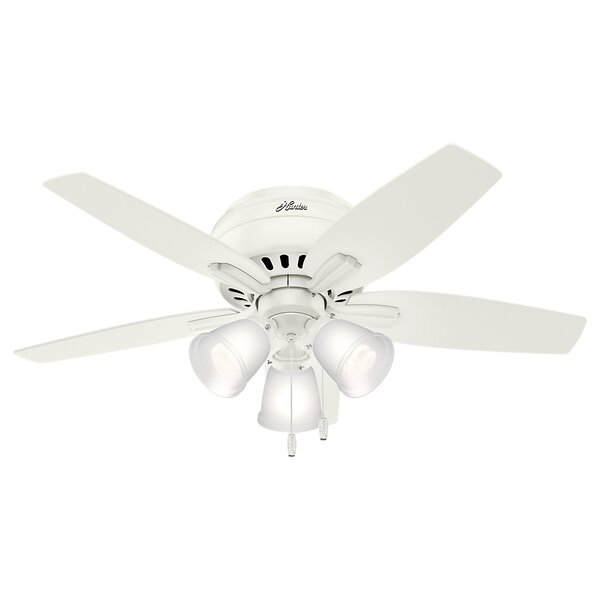 42 Newsome Low Profile 5 Blade Ceiling by Hunter Fan